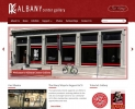 Albany Center Gallery Website